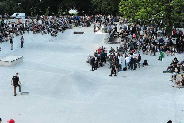 The Crowd at Copenhagen Pro