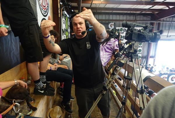 Ira at Work at Tampa Am