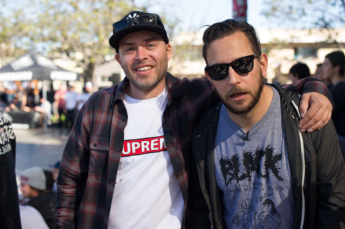 Deville and Nieratko at The Boardr Am Los Angeles