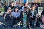 Tyler Hunger, Dylan Perry, Yoda, Ish Cepeda, Ronnie Kessner, Tyson Peterson. Skateboarding makes you friends all across the country.