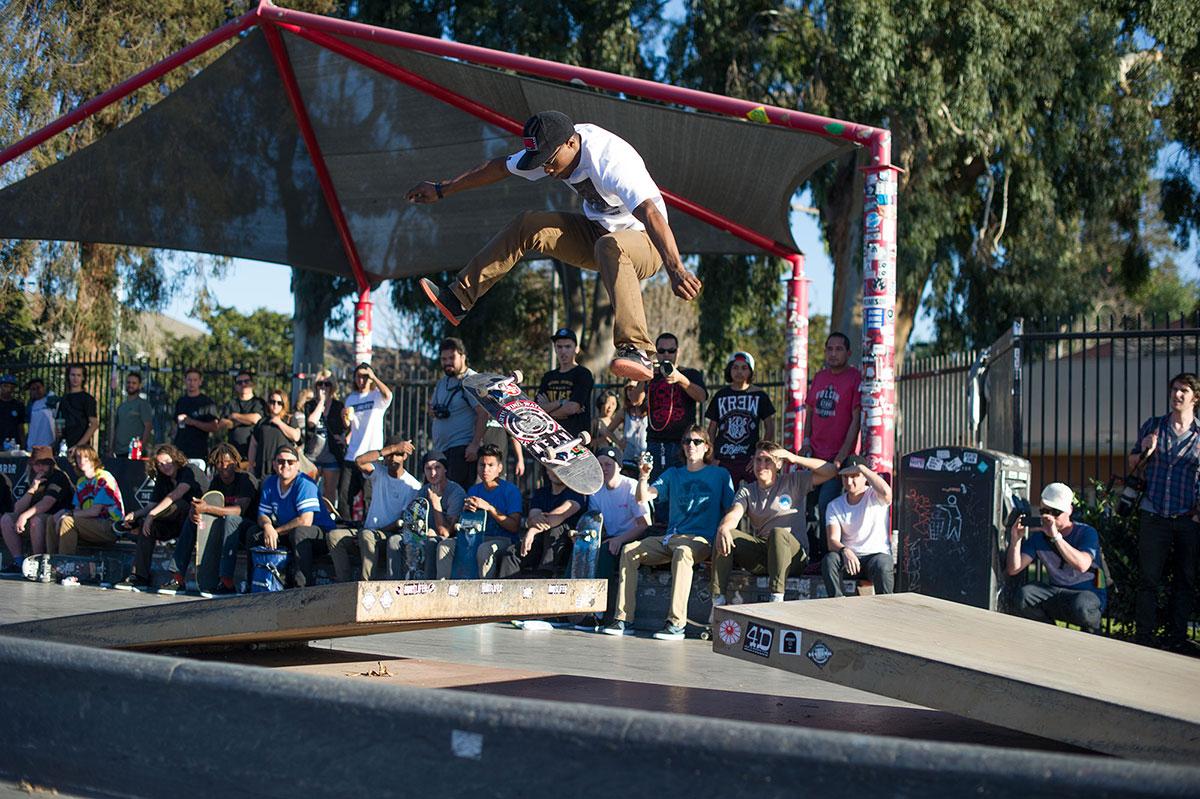 Dashawn Jordan Laserflip at The Boardr Am Los Angeles
