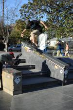 Brodie Penrod, kickflip backside tailslide.