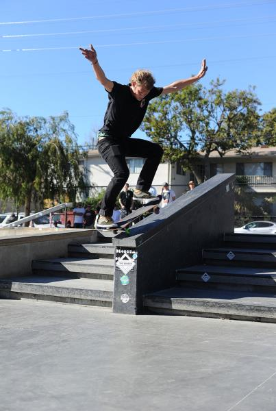 Joey Ragali at The Boardr Am Los Angeles