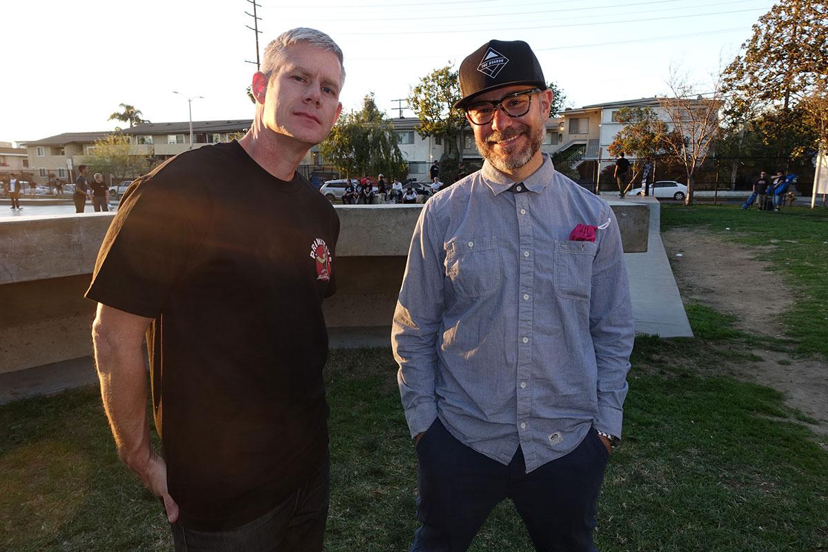 Heath and Ryan at The Boardr Am Los Angeles