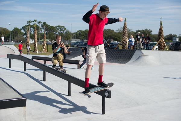 Learning to Boardslide on a Skateboard