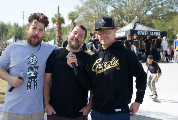 Body, Tito, and Clements at Zephyrhills Skatepark