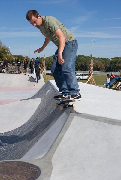 Mike at Zephyrhills Skatepark