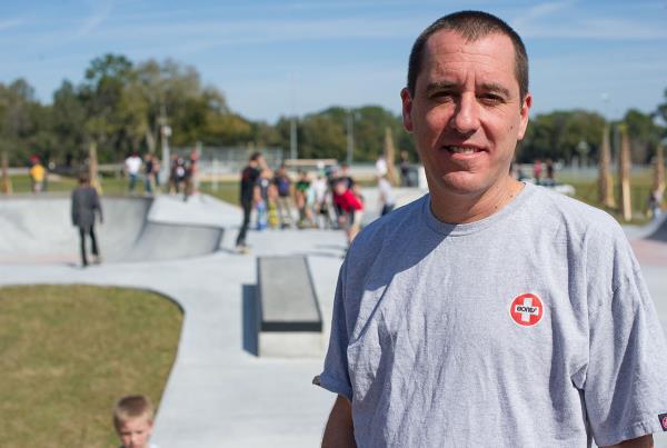 John Montesi at Zephyrhills Skatepark