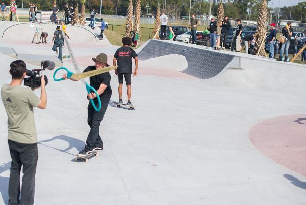 Casey Cuts at Zephyrhills Skatepark