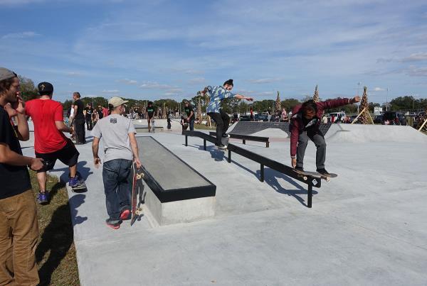 Doubles at Zephyrhills Skatepark