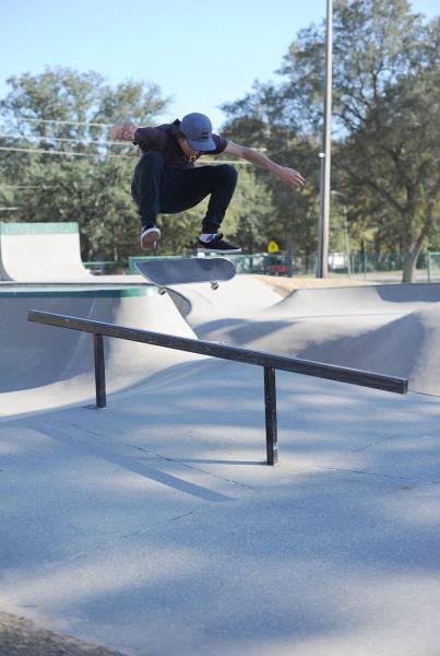 Tyler Frontside Flips in Milton