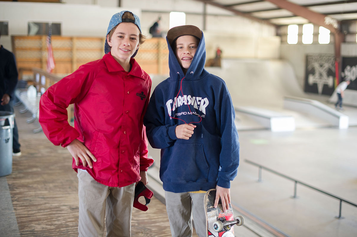 Jett and Jagger Eaton at The Boardr Am at Houston