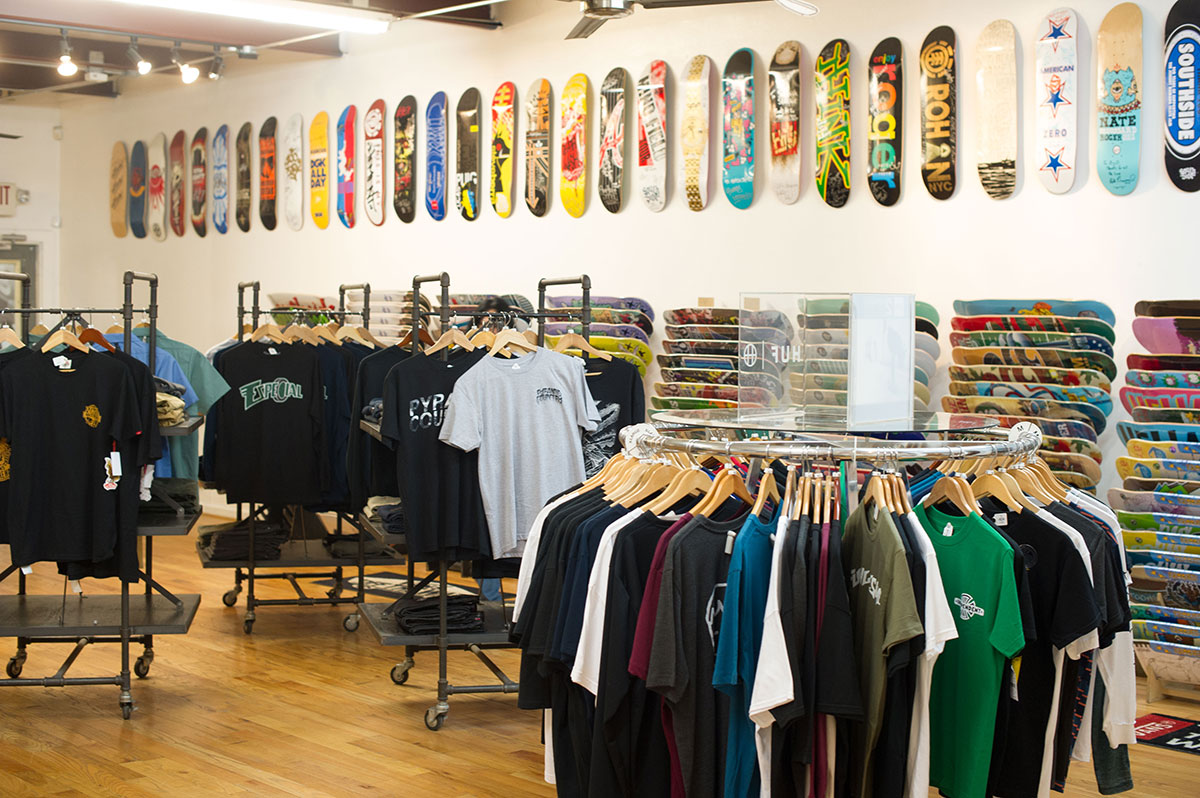 Southside Shop at The Boardr Am at Houston