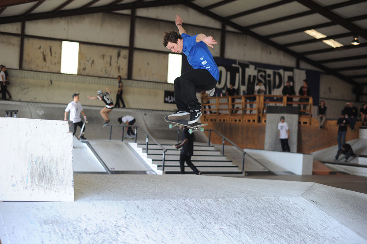 Switch Ollie at The Boardr Am at Houston