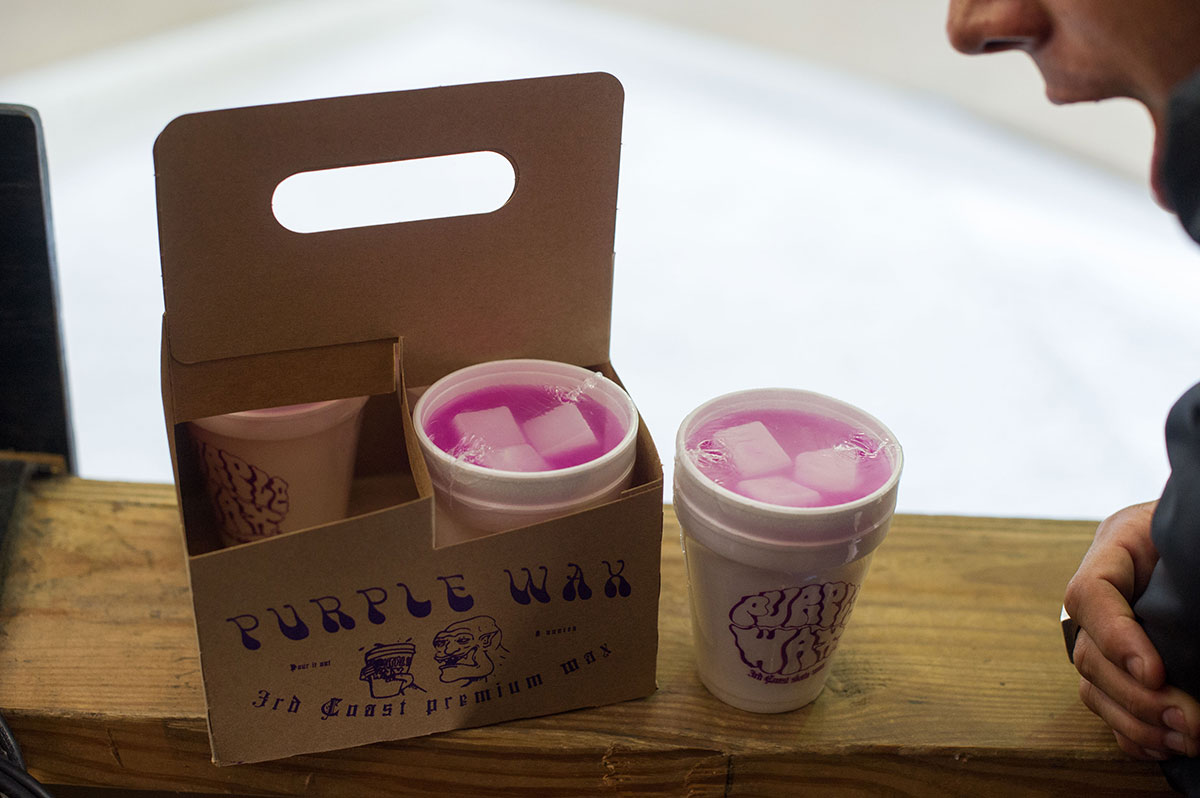 Purple Drank Wax at The Boardr Am at Houston