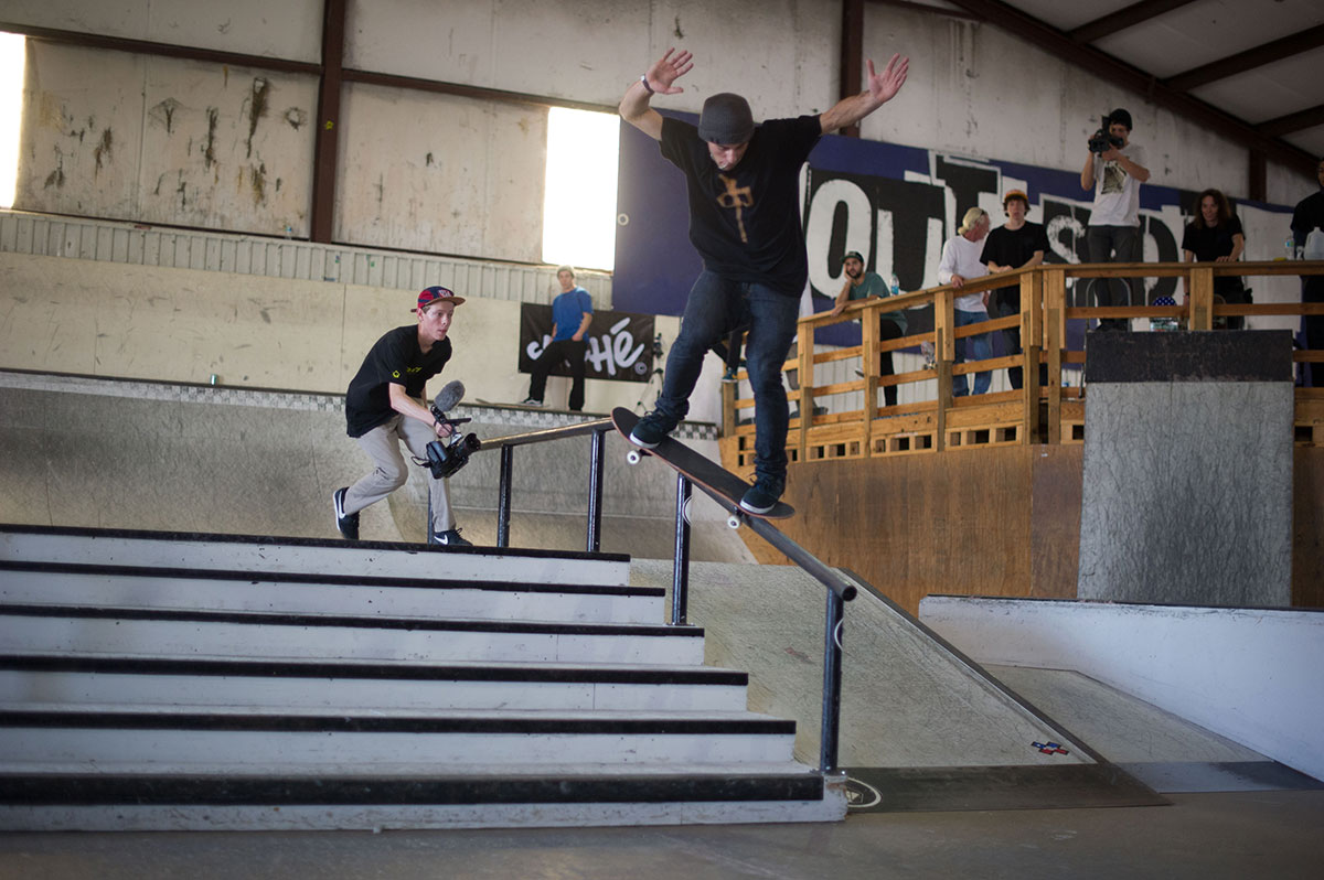 Nollie Crook at The Boardr Am at Houston