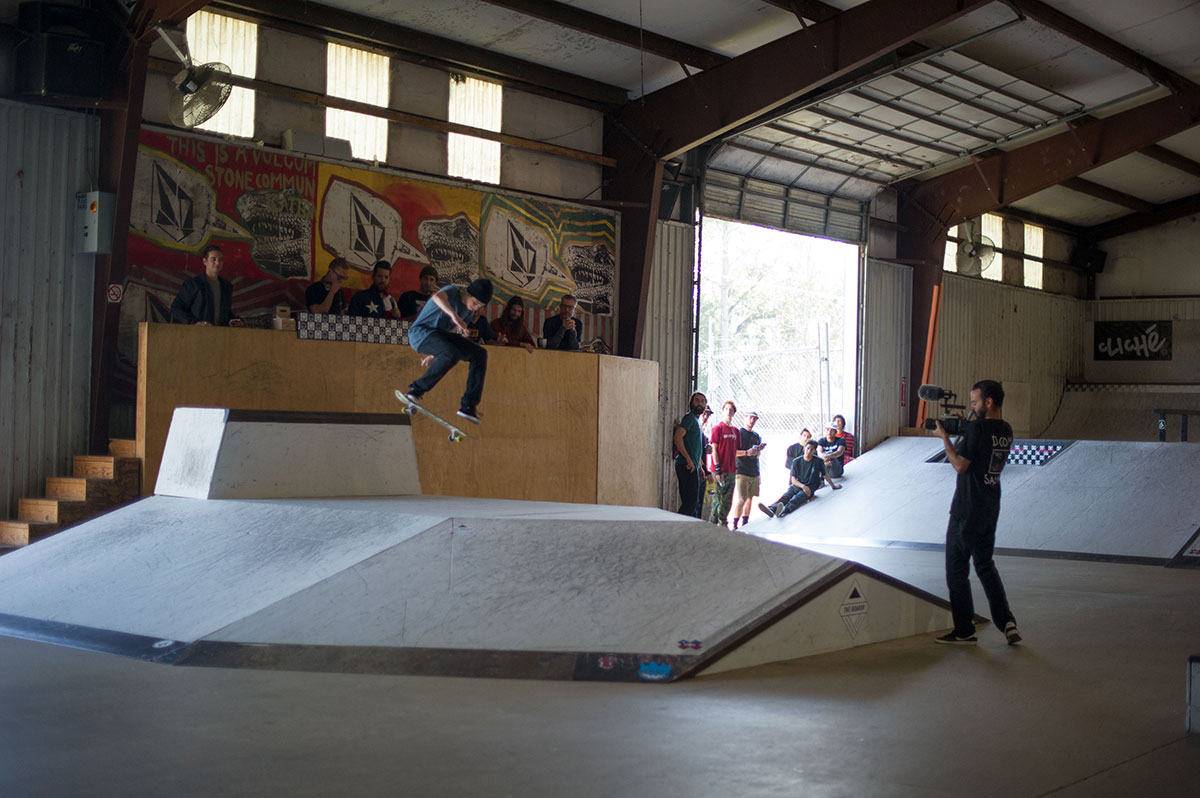 Back 360 at The Boardr Am at Houston