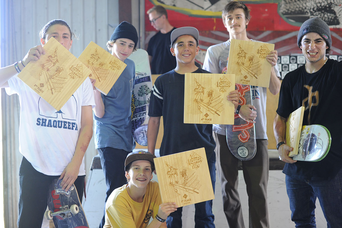 Top 6 at The Boardr Am at Houston