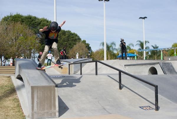 Mason Nosesliding at GFL Lakeland