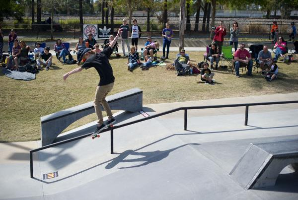 Tyler Feeble Grinds at GFL Lakeland