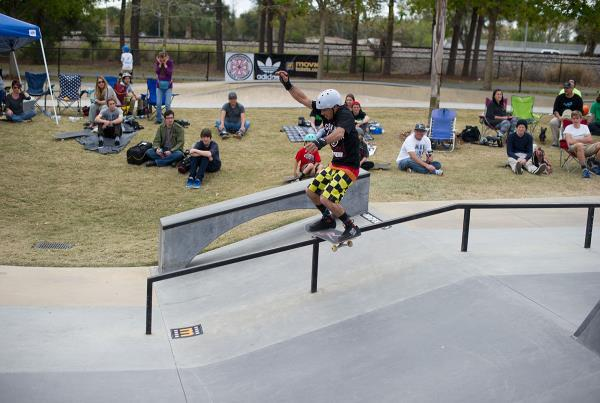 Omar Boardslides at GFL Lakeland