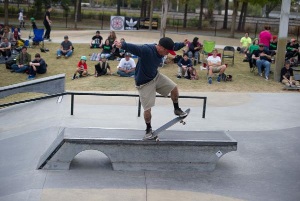 Backside 5-0 at GFL Lakeland