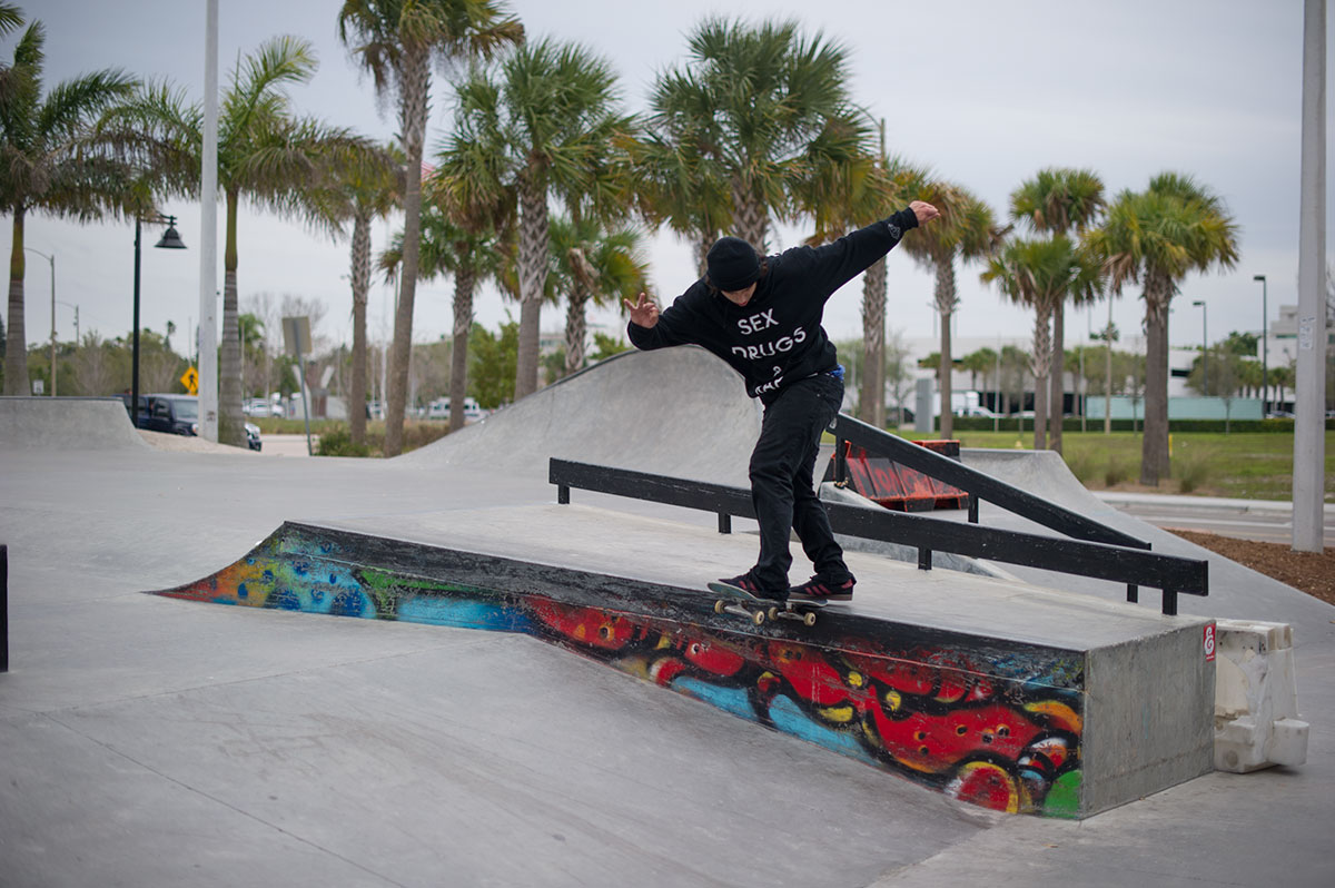Iago Carrasco BSTS at The Boardr Am at Tampa Bay