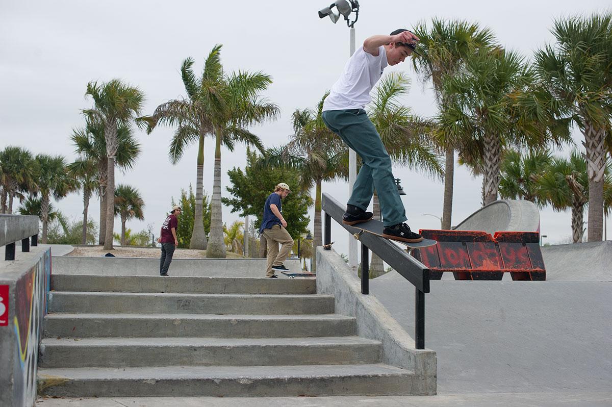 John Purcell at The Boardr Am at Tampa Bay