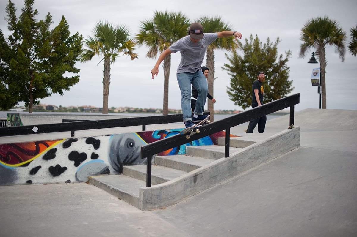 Julian Lewis at The Boardr Am at Tampa Bay