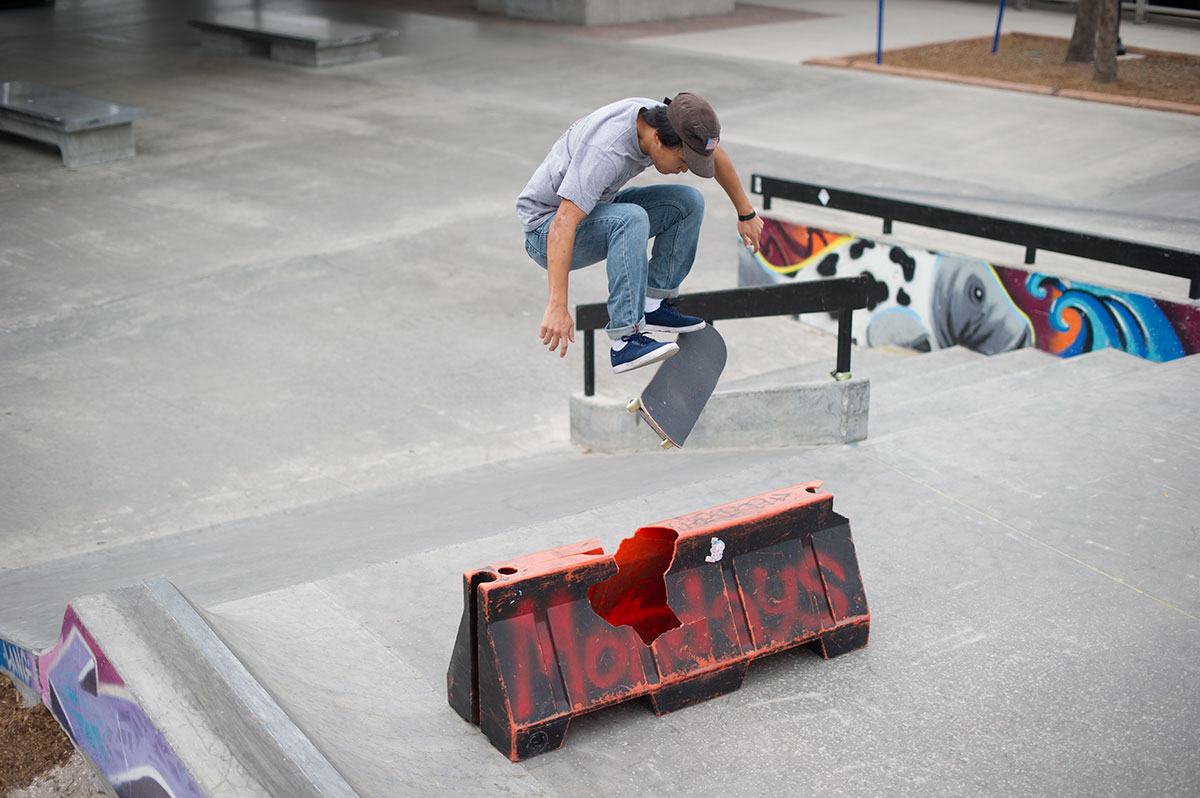 Julian Lewis FS Flip at The Boardr Am at Tampa Bay