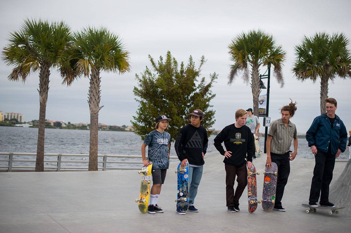 Organized Chilling at The Boardr Am at Tampa Bay