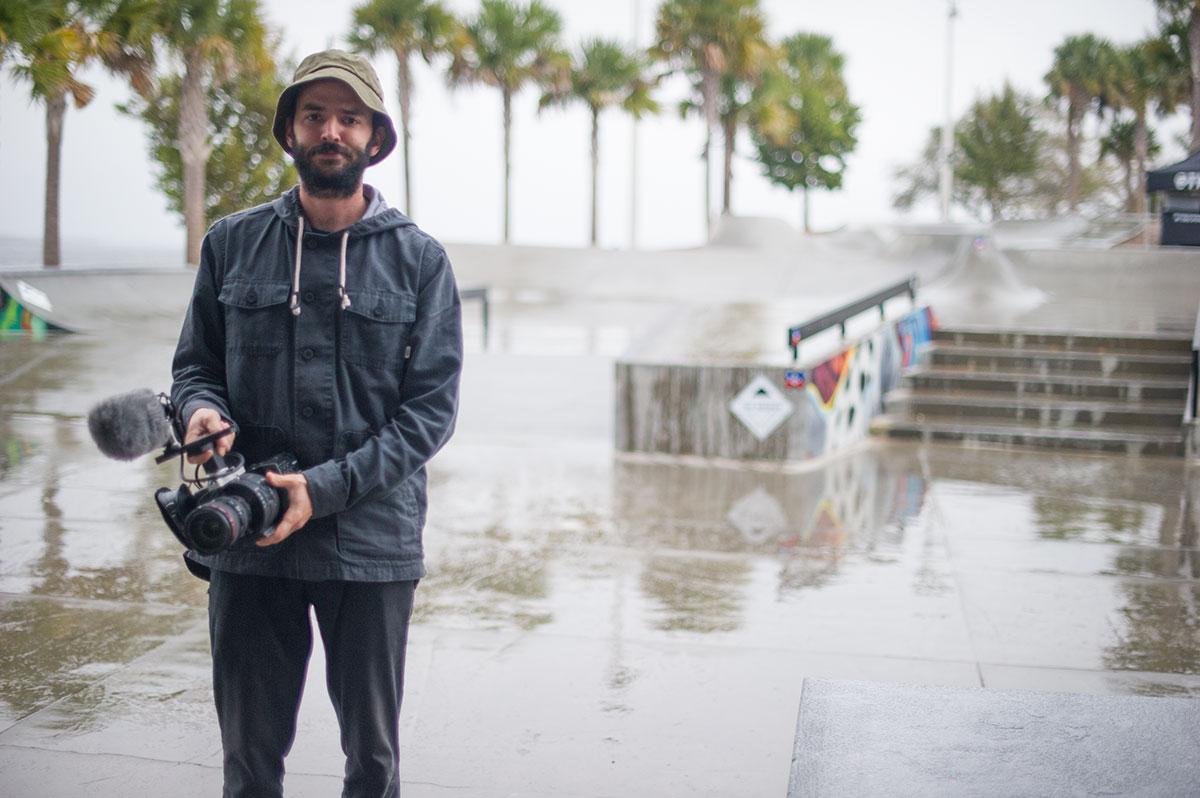 Joe in the Rain at The Boardr Am at Tampa Bay