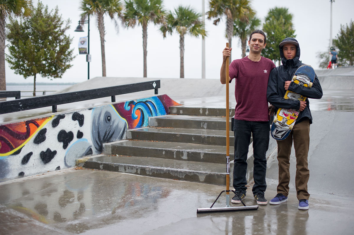 Jorge and Alex at The Boardr Am at Tampa Bay
