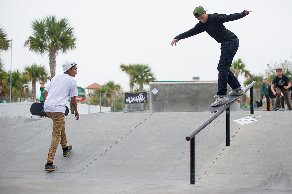 Marcos Front Feeble at The Boardr Am at Tampa Bay