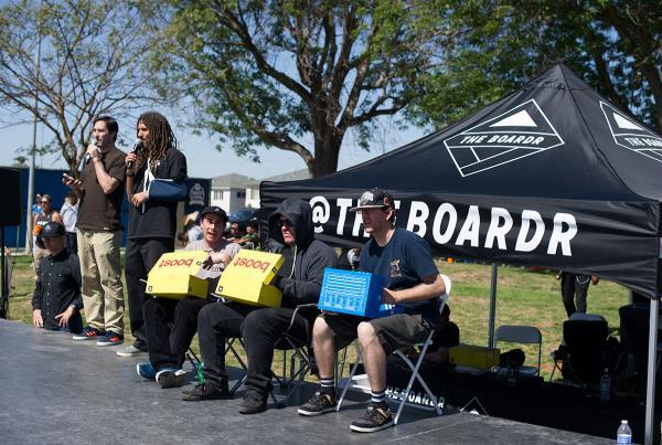 Judges Shade at adidas Skate Copa LA