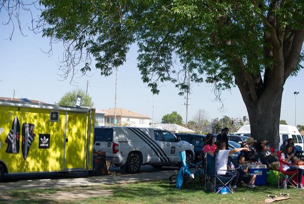 Family Camp Outs at adidas Skate Copa LA