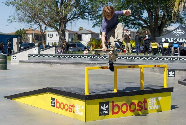 Tristan Fast Plant at adidas Skate Copa LA