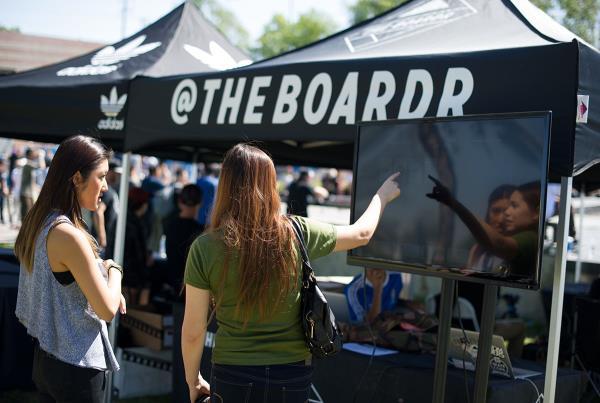 Live Scoring at adidas Skate Copa LA