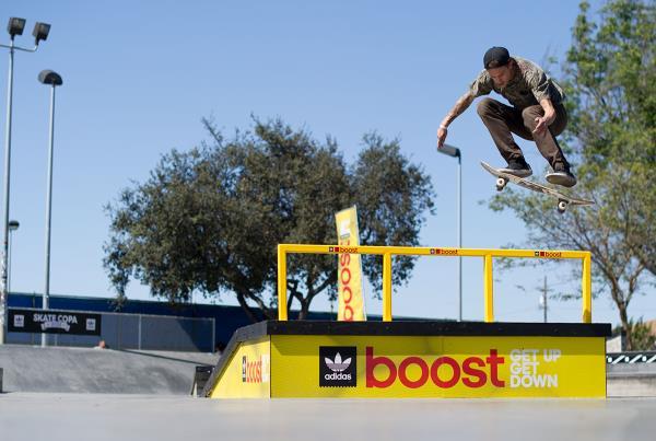 Chris Troy 360 Flip at adidas Skate Copa LA