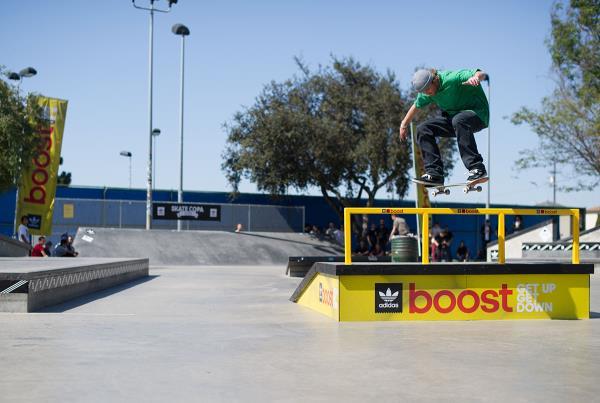 Jeff Late Flips at adidas Skate Copa LA