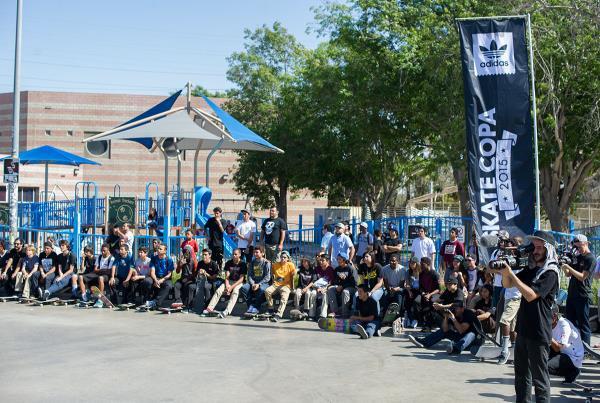 The Crowd at adidas Skate Copa LA