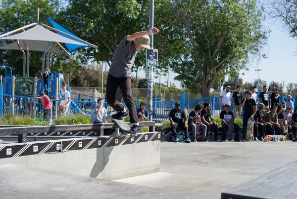 Julluis Back Lip at adidas Skate Copa LA