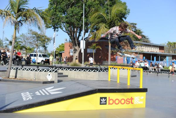 Mike Marks Switch Flip at adidas Skate Copa LA