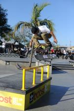 Chris Joslin on a bigger flip over the Boost the Bar.