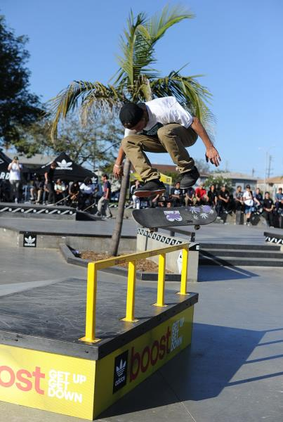 Chris Bigger Flip at adidas Skate Copa LA