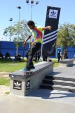 Mikee Fakie 50, Switch Biggie at adidas Skate Copa LA