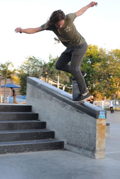 Wallride Overcrook at adidas Skate Copa LA