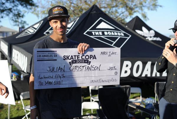 Julian's Too Good at adidas Skate Copa LA