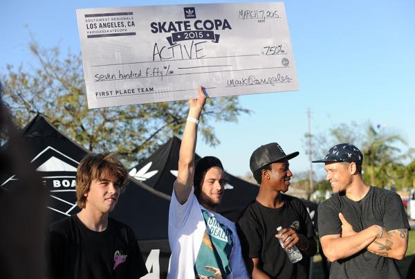 Active Wins at adidas Skate Copa LA 2015