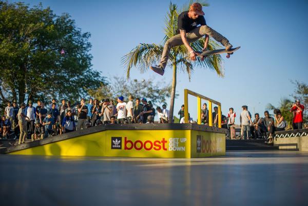 Best Trick at adidas Skate Copa LA 2015